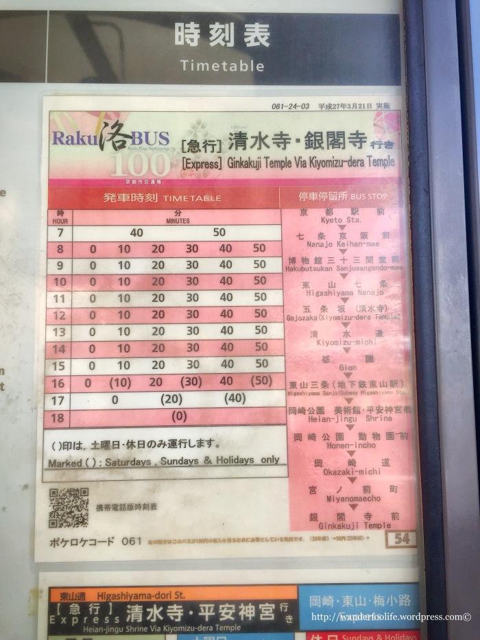04. Kyoto Bus Stop